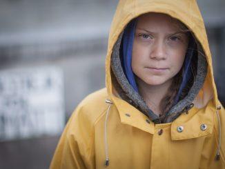 Greta Thunberg, Foto von Anders Hellberg